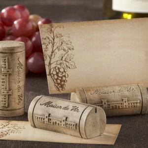 """Stalo kortelių/nuotraukų laikiklis """"Maison Du Vin"""""""