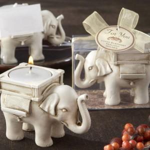 """Žvakidė """"Nešantis laimę dramblys"""""""